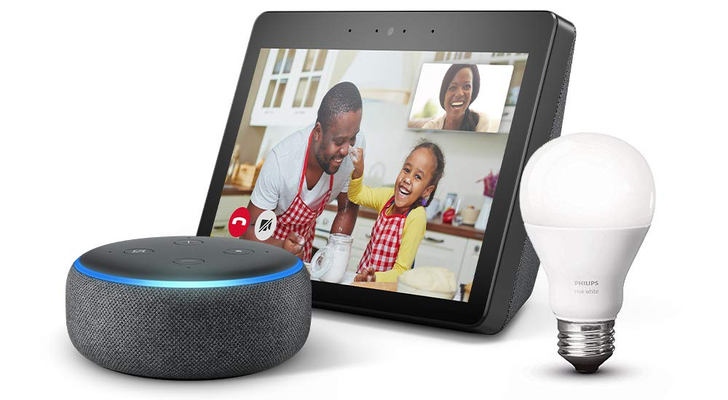 Get a free Echo Dot and Philips Hue smart bulb when buying an Echo Show for $180 (save $115)