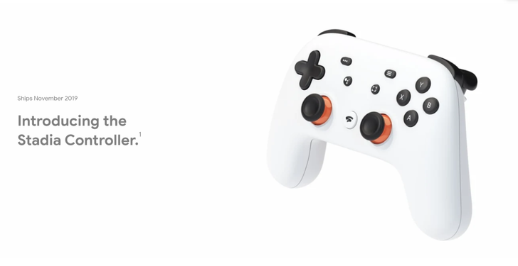 Individual Stadia controllers now available for Google Store pre-order