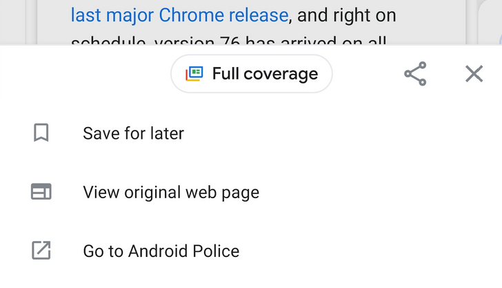 Google News v5.12 adds larger 'full coverage' button, moves shortcuts to new bottom bar [APK Download]