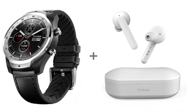 TicWatch Pro plus TicPods Free bundle is down 25% to $285 / £252