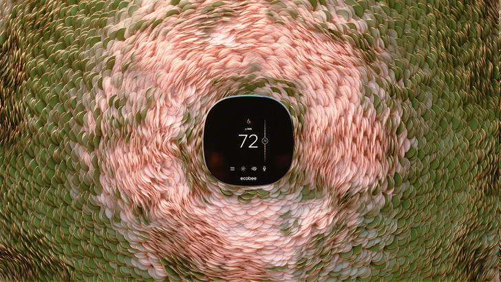 Ecobee's new SmartThermostat features modest redesign and improved voice recognition for $250