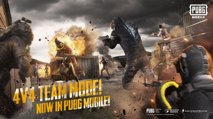 PUBG Mobile 0.13.0 update adds a new team deathmatch mode, better cheat detection, a Godzilla theme, plus more
