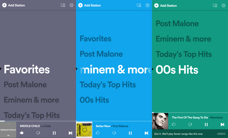 Spotify Stations finally arrives in the US with many changes in tow