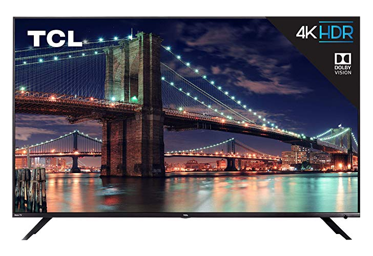 Save over $100 on TCL's highly rated 6 Series 4K Roku TVs
