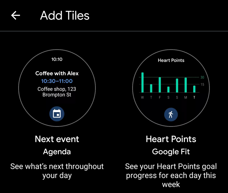 The Wear OS by Google phone app gets a proper tile manager