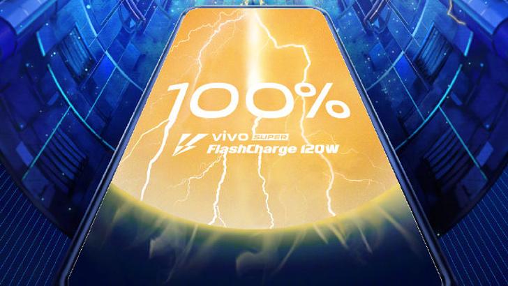 Vivo demos 120W charging ahead of 5G phone launch