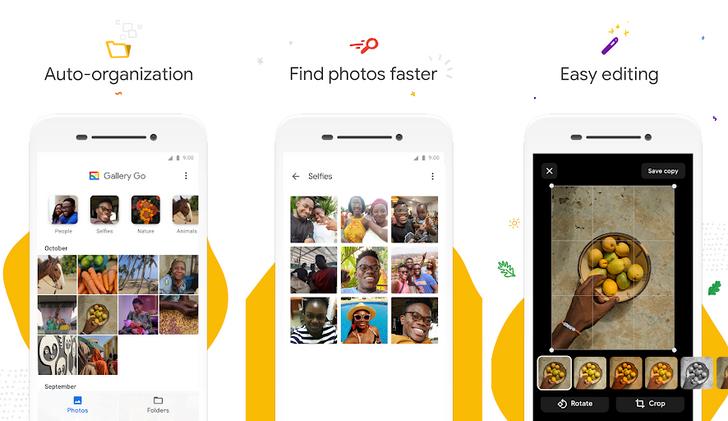 [Update: APK Download] Google's Gallery Go is a lighter photo organization app designed for offline use