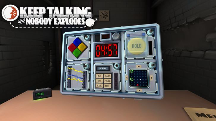 [Update: Now Available] Local co-op game Keep Talking and Nobody Explodes comes to Android phones and tablets on August 1