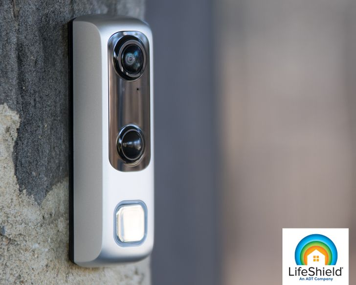 ADT's LifeShield launches HD Video Doorbell for $200