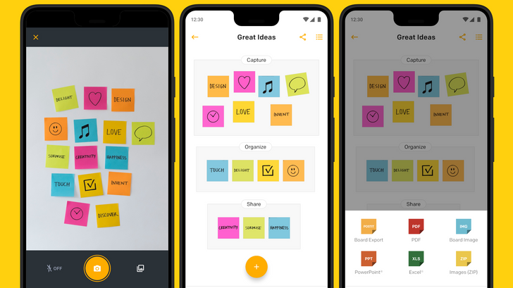 Post-it releases Android app to scan and organize sticky notes, only five years after iOS