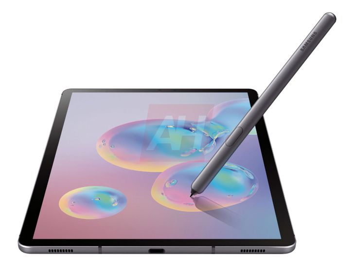[Update: Official renders leak] The Galaxy Tab S6 will be Samsung's next iPad fighter, first photos reveal