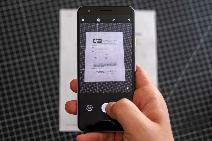 How to scan documents and photos into PDFs on Android