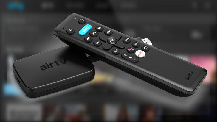 AirTV Mini is an $80 4K Android TV stick with Sling on-board