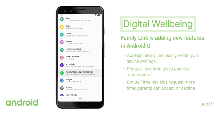 Android Q's parental controls are going live with latest Digital Wellbeing beta [APK Download]