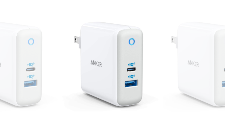 [Update: It's back] Anker 60W USB-C + USB-A super compact wall charger is at an all-time low of $32 for the next few hours