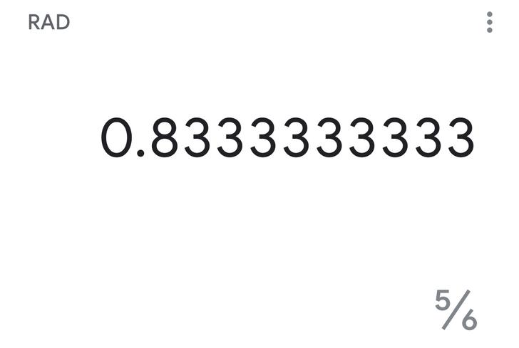 Google Calculator v7.7 displays fractions alongside decimal results [APK Download]