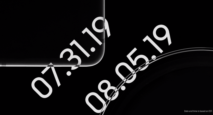 Samsung posts shadowy teaser video of presumptive Tab S6 and Watch Active 2