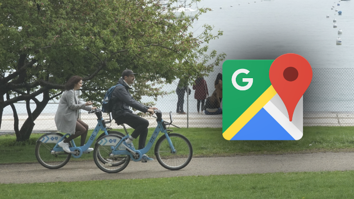 Google Maps now tracking live bikeshare vehicle availability in 24 cities