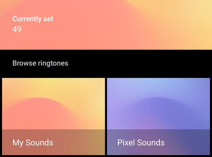 Google Sounds for Pixels gets a dark mode, lets you manually add ringtones [APK Download]
