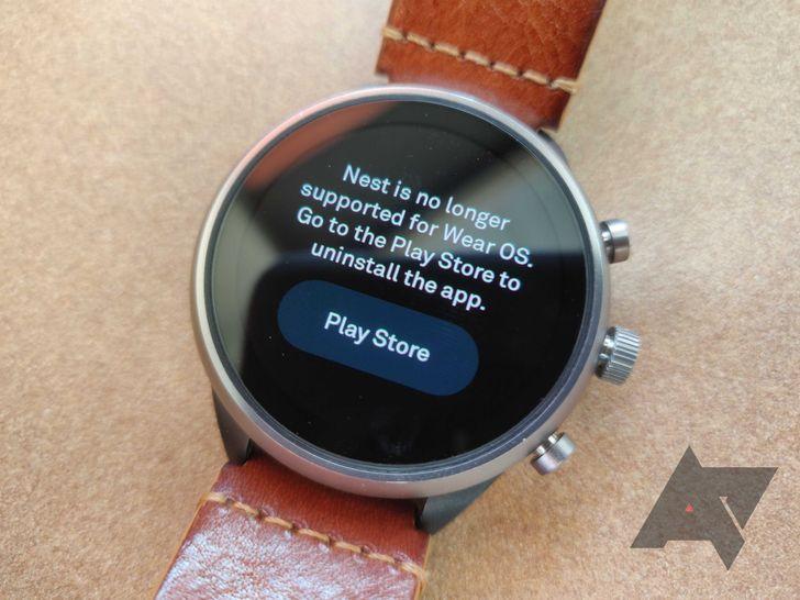 Nest kills its Wear OS app in latest update