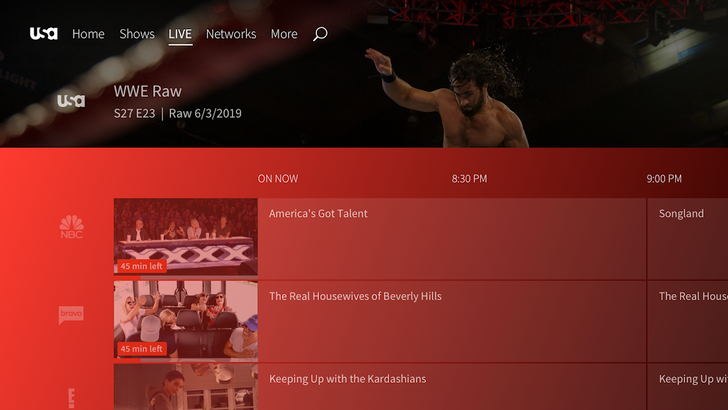 USA Network gets an Android TV app