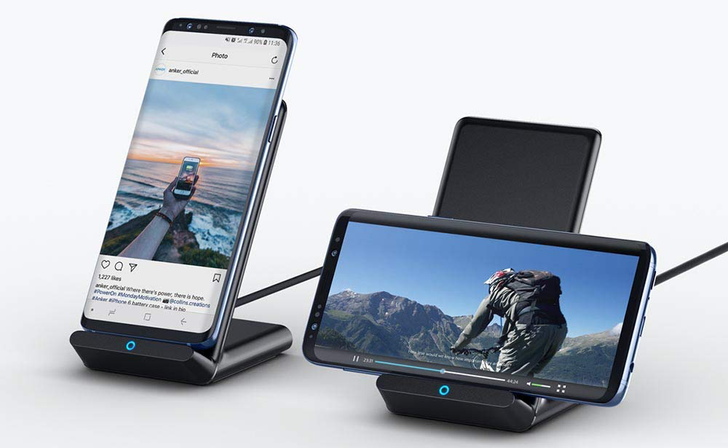 Anker's wireless charging stand drops to $13 on Amazon ($7 off)