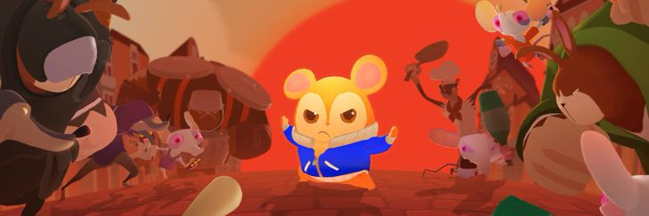 Hamsterdam is an adorable beat 'em up rhythm game, and it just landed on the Play Store