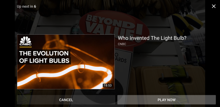 YouTube rolls out a new, simplistic 'Up next' screen