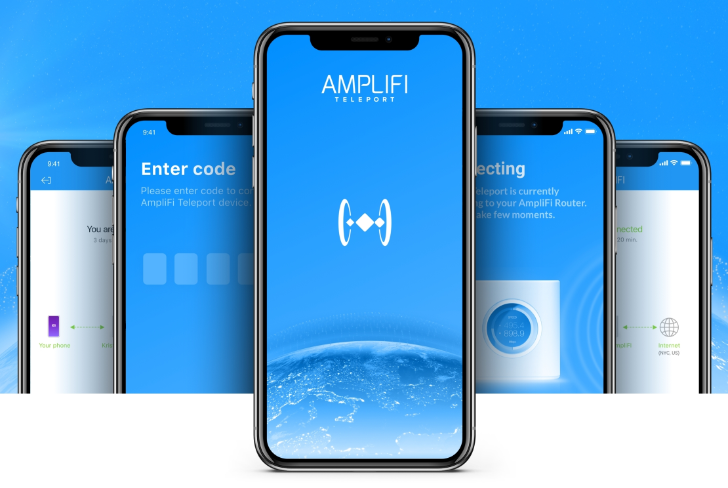 [Update: It's official] Ubiquiti's free Amplifi Teleport app lets you browse anywhere as if you were in the security of your home