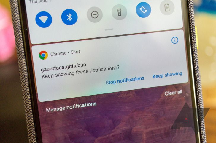 How to block spam notifications and rogue ads on Android
