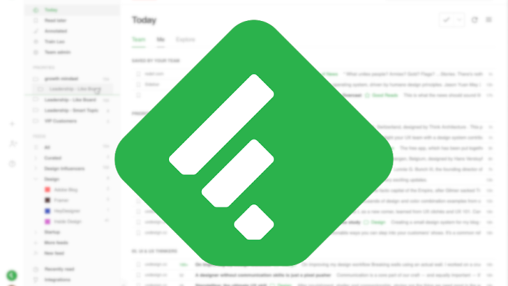 Feedly updates web app with dark mode, right-click menus, and more
