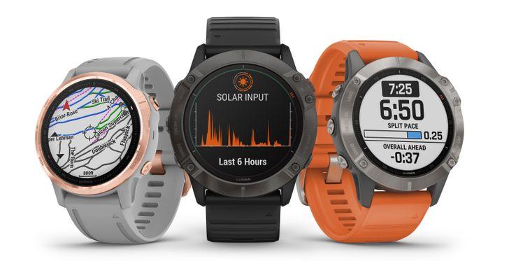 Garmin announces Fēnix 6-series smartwatches with optional solar power display