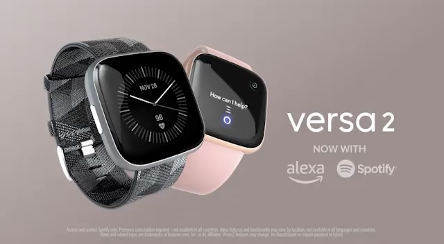 Wrap a new Fitbit Versa 2 around your wrist for $50 off on Amazon