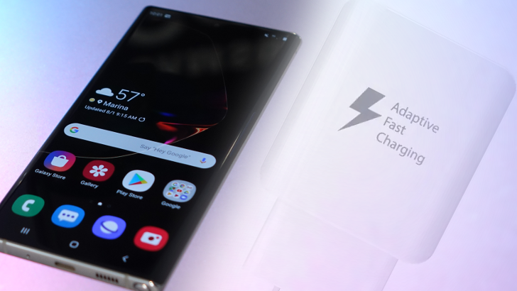 Update: PPS required] Charging the Galaxy Note10+ at its