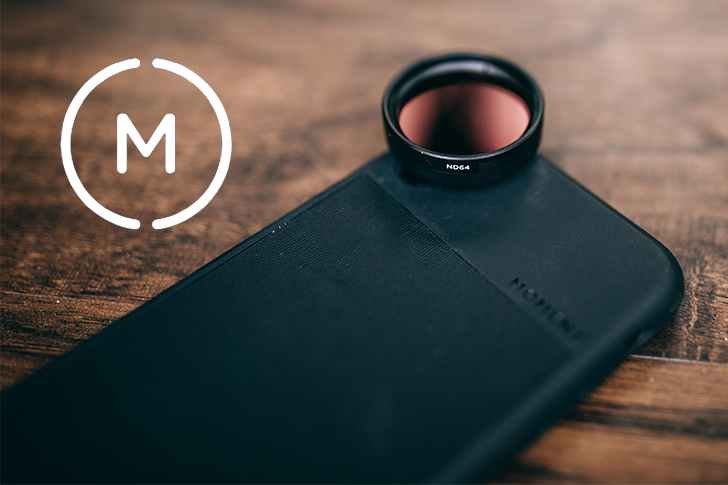 Moment launches a new circular polarizer and neutral density filters, 20% off 3-day sale