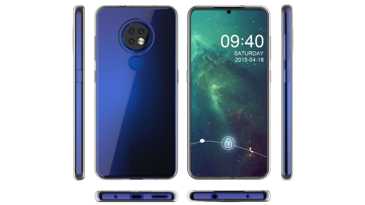 [Update: New images in blue] Nokia 7.2 and its 48MP camera surfaces ahead of HMD Global IFA event