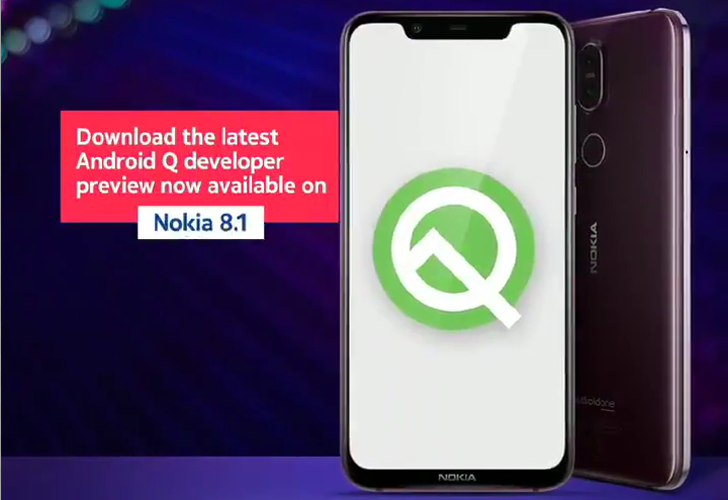 Nokia 8.1 Android Q Beta 5 adds corner swipe gesture for Google Assistant