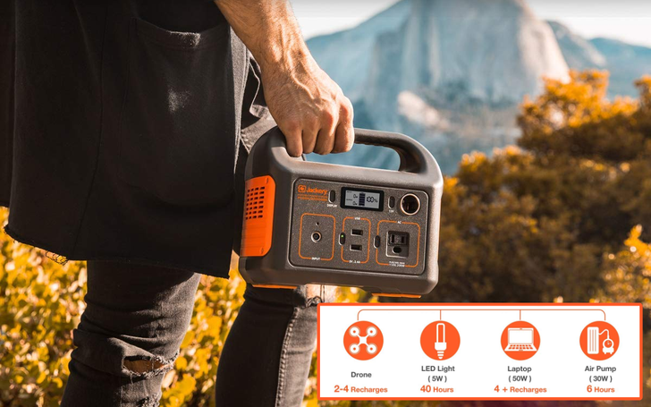 The Jackery Portable Power Station Explorer 240 is $187 ($63 off) for today only
