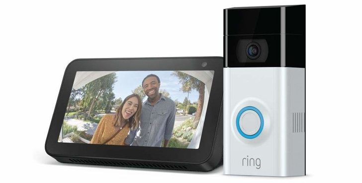 Grab a Ring Video Doorbell 2 for $200, get a free Echo Show 5 ($90 off)