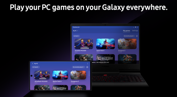 Samsung's PlayGalaxy Link game streaming app is now available on Android and Windows (Update: Galaxy Fold, S9, Note9, A90 supported)
