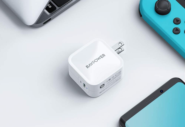 This ultra-compact RAVPower 61W USB-C PD charger is down to $27 ($13 off)