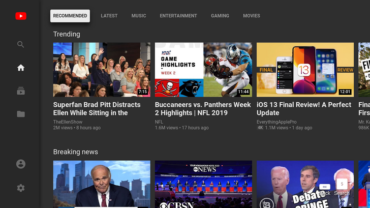 [Update: Shutdown date] Sorry, HTPC owners: YouTube is killing its web-based TV interface