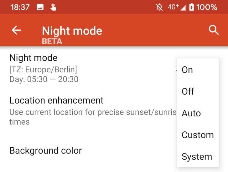 [Update: Now in stable] Nova Launcher beta adds support for Android 10 dark theme