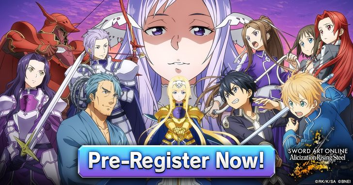 (Update: Out now) Sword Art Online Alicization Rising Steel is a new RPG from Bandai Namco, now available for pre-reg