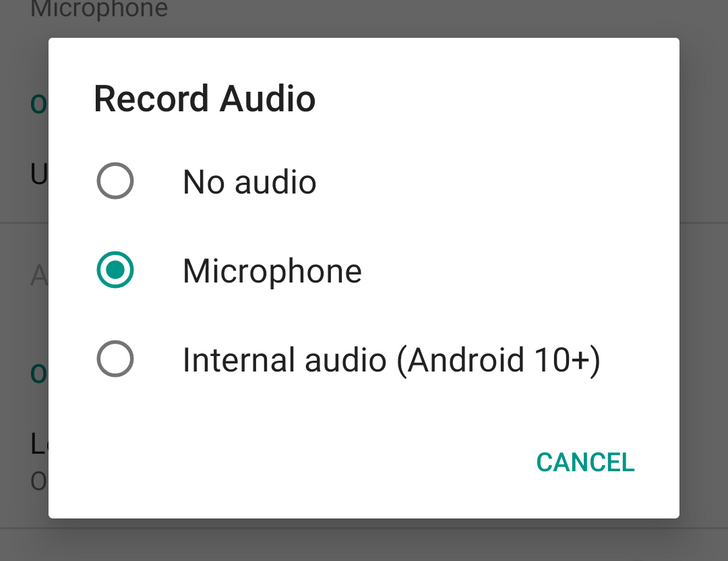 ADV Screen Recorder adds internal audio capture on Android 10 thanks to new API