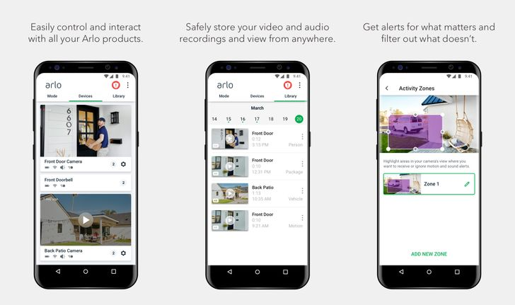 Arlo releases new Android app with two-factor authentication support