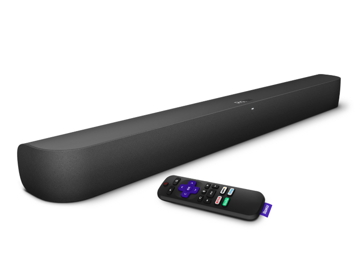 Roku's new Smart Soundbar is also a 4K streaming box