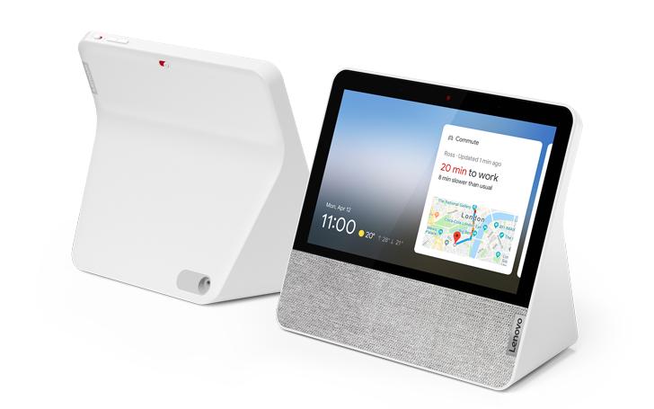 """Lenovo launches a compact 7"""" Smart Display with Google Assistant"""