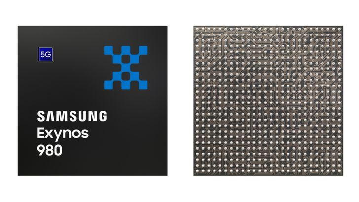 The Exynos 980 is Samsung's first 5G-integrated chipset