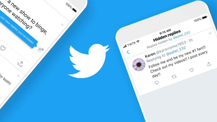 (Update: Available worldwide) Twitter lets US users hide replies in their threads